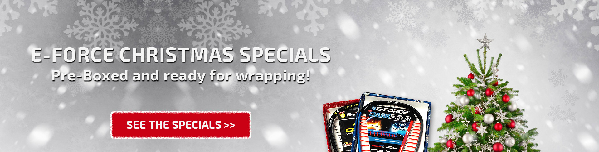 Christmas specials from E-Force